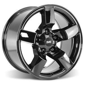 F 150 Svt Lightning Sve Wheel 18x9 5 Gloss Black 99 04