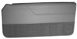 Mustang Lower Door Panel Carpet Light Gray (85-86)  sc 1 st  LMR.com & Mustang Door Panel Carpet - LMR.com