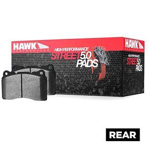 Hawk Performance Brakes HB844Z.700 PC Street Brake Pads