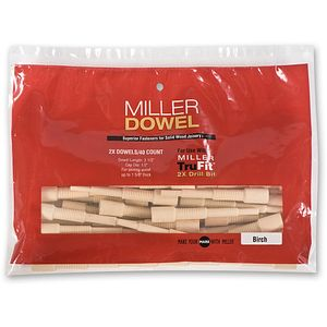 Miller Large Joinery Kit 2X c//w 50 Birch Dowels
