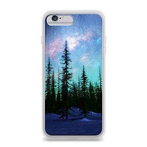 34ee0e52e7d Funda para iPhone 6 Plus Uniquecases Aurora Boreal