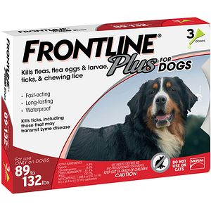 Frontline Plus For Dogs 0 22 Lbs Orange 3 Month On Sale