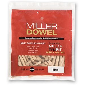Miller Dowels Mini X Stepped Drill Bit